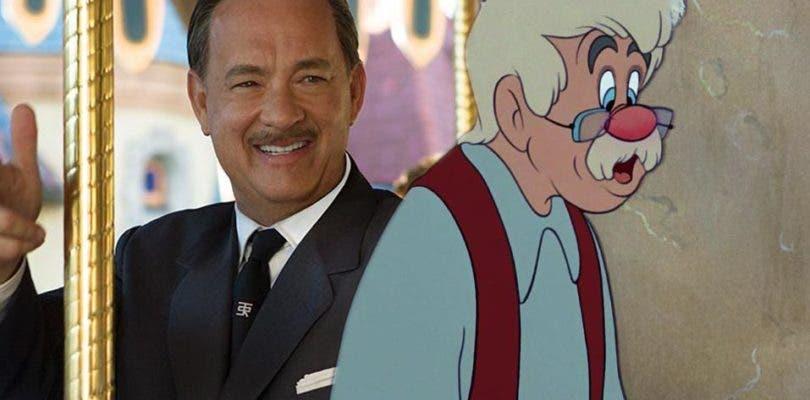 Tom Hanks negocia con Disney para dar vida a Geppetto en el live-action de Pinocho