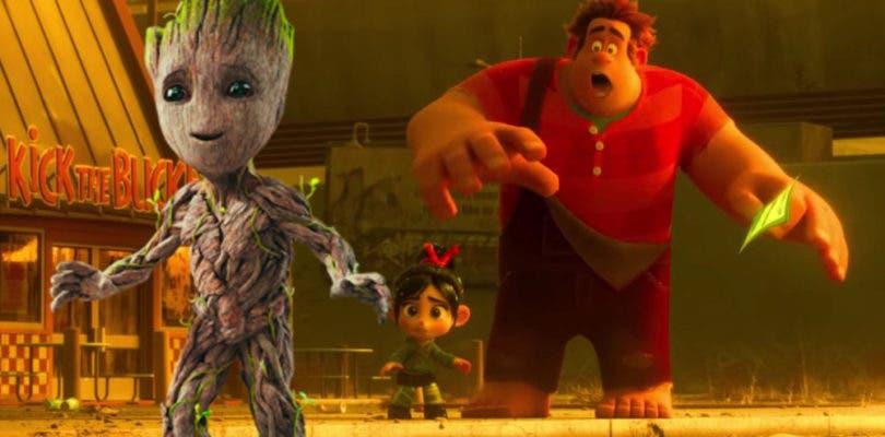 Baby Groot aparecerá como cameo en Ralph rompe Internet