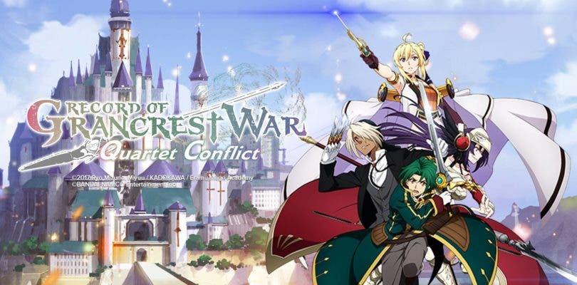 Record of Grancrest War: Quartet Conflict ya está disponible para móviles