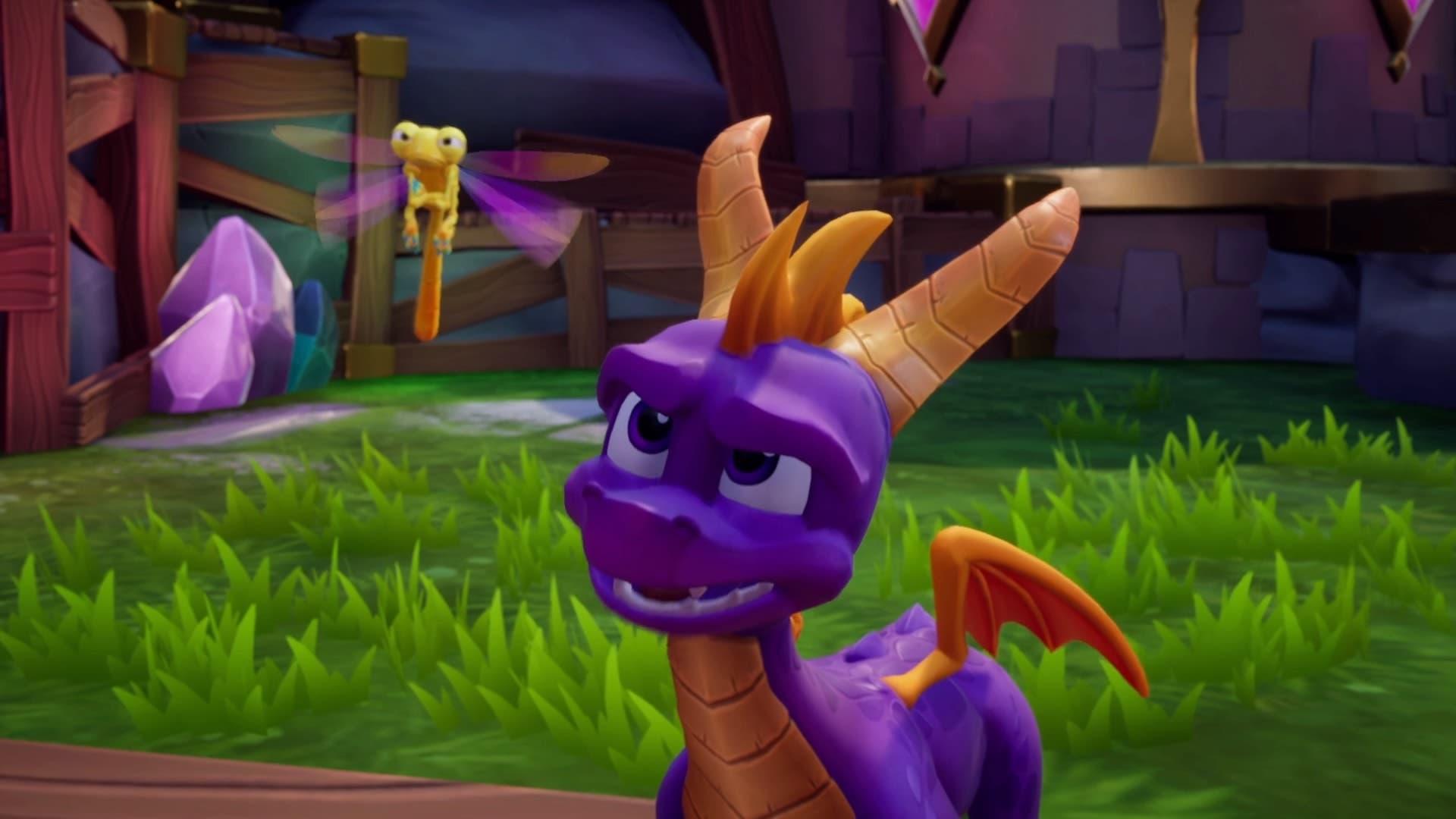 Imagen de Revelado el tamaño de Spyro Reignited Trilogy en Nintendo Switch