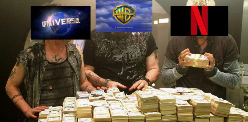 La guerra de la ventana de distribución: Universal y Warner Bros. arremeten contra Netflix