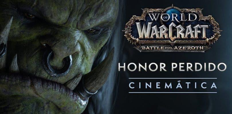 Varok Colmillosauro y Anduin Wrynn dialogan en el último vídeo de World of Warcraft