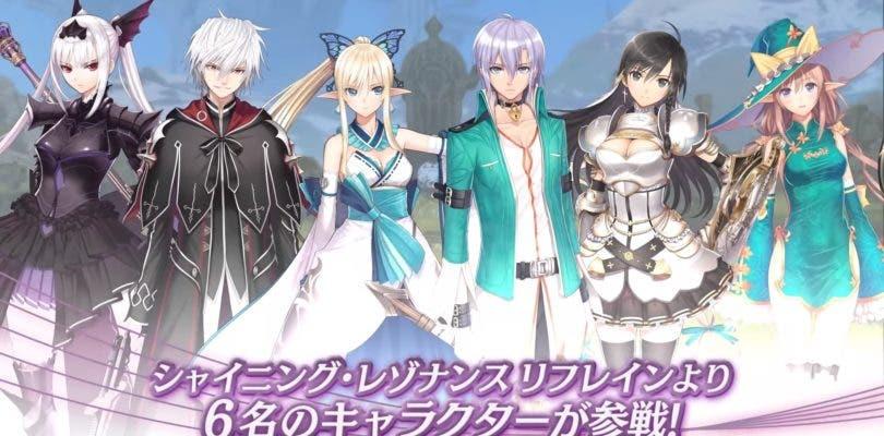 Vídeo y plantel de personajes para Blade Arcus Rebellion from Shining