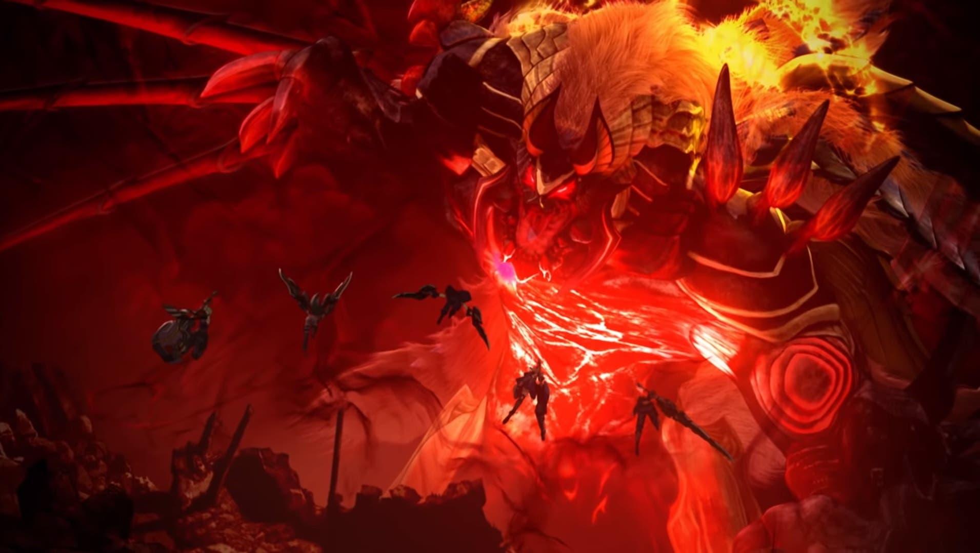 Imagen de Publicado el opening animado de God Eater 3