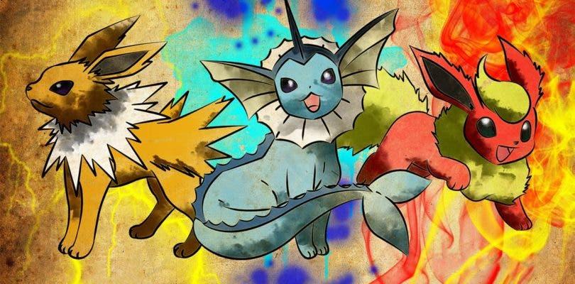 Así es como podrás conseguir a Vaporeon, Jolteon y Flareon en Pokémon: Let's Go Pikachu/Eevee