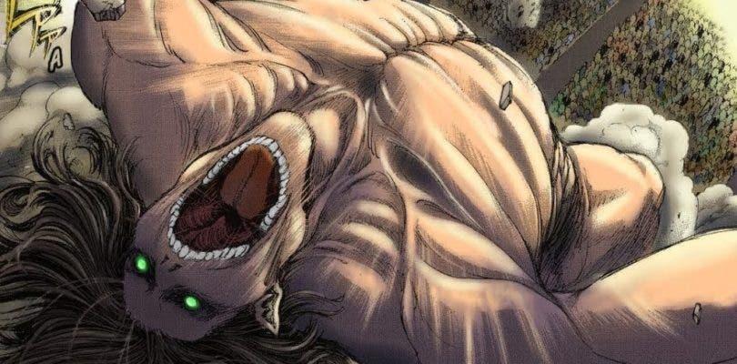 Así es el último panel del manga de Ataque a los titanes