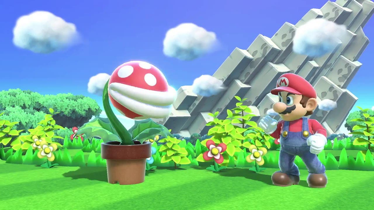 Imagen de Planta Piraña podrá conseguirse de forma gratuita en Super Smash Bros. Ultimate