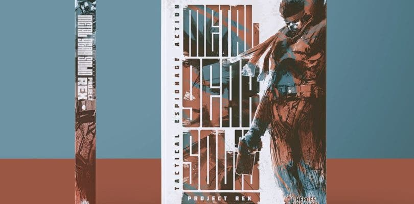 Héroes de Papel ha puesto a la venta el cómic Metal Gear Solid: Project Rex