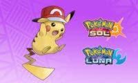 Consigue a Pikachu con gorra gratis en Pokémon Ultrasol y Ultraluna
