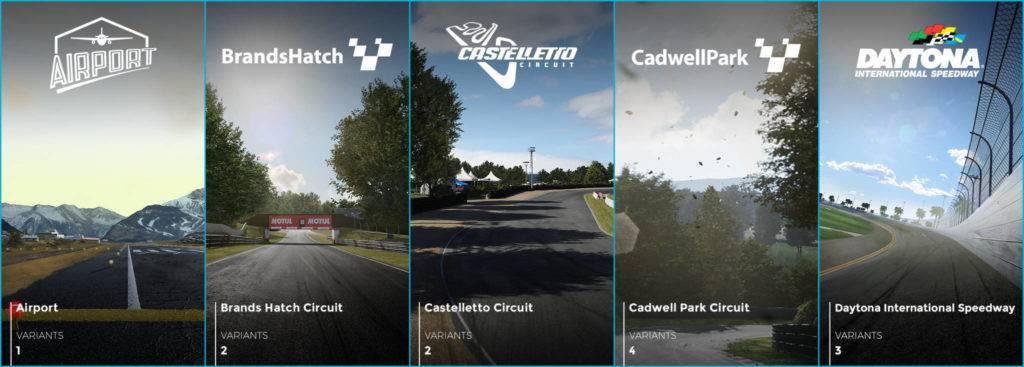 Imagen de Se revelan los 30 circuitos disponibles de inicio en Ride 3