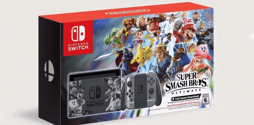 Consigue una Nintendo Switch Super Smash Bros. Ultimate Edition con este sorteo