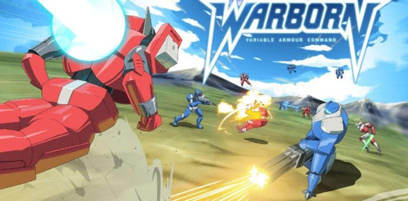 Raredrop anuncia Warborn, un título de estretegia y temática 'mecha'