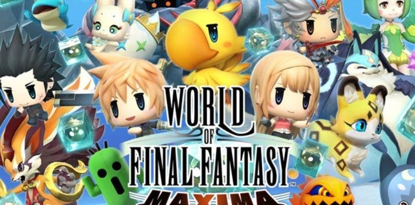 World of Final Fantasy Maxima llega hoy a Nintendo Switch, Xbox One y PC