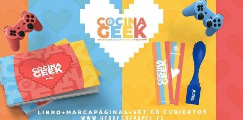 Cocina Geek, un delicioso libro sobre comida y videojuegos