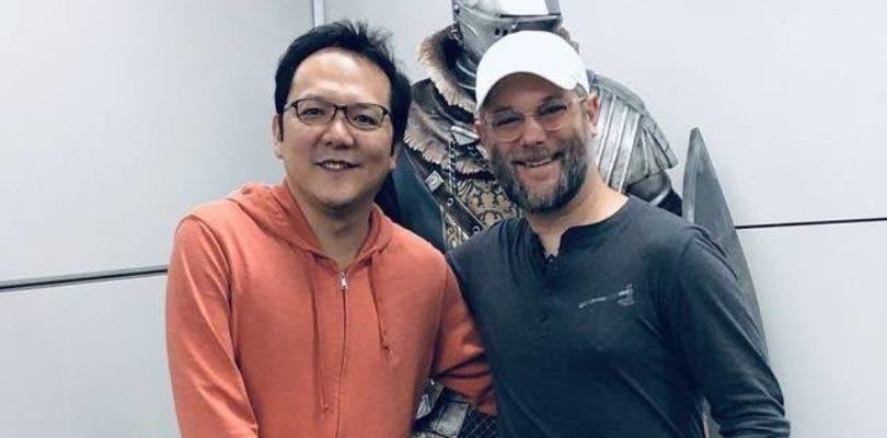 Cory Barlog sigue con su visita oriental y se reúne con Hidetaka Miyazaki