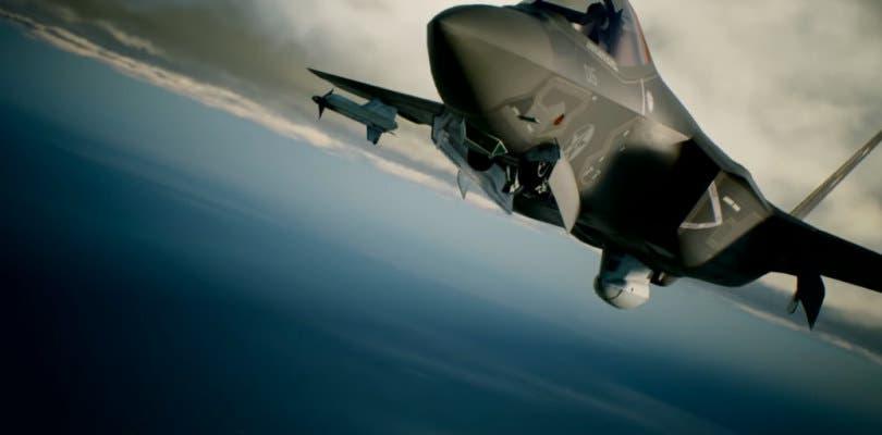 El caza F-35C es la figura principal del nuevo tráiler de Ace Combat 7