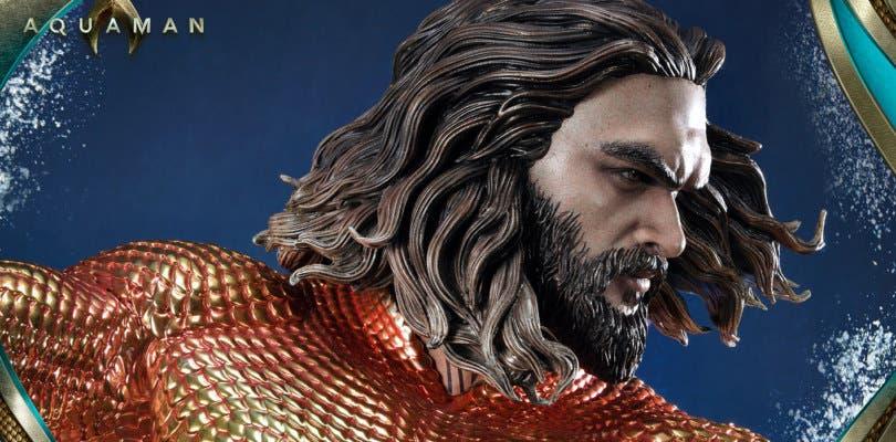 Aquaman se luce en una nueva pieza creada por Prime 1 Studio