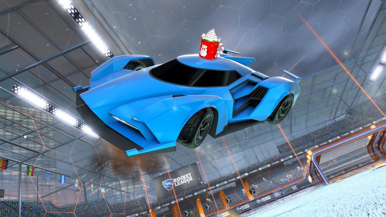 Imagen de Rocket League se apunta a la Navidad y anuncia el festival Frosty Fest