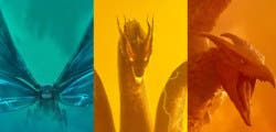 Tres colores para el apocalípsis: Así son los nuevos pósteres de Godzilla 2