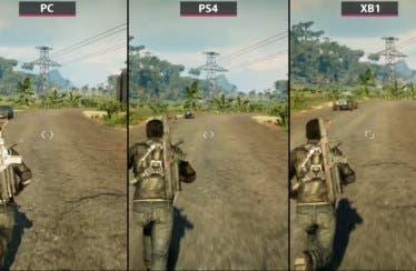 Un nuevo vídeo compara las versiones de PC, Xbox One y PS4 de Just Cause 4
