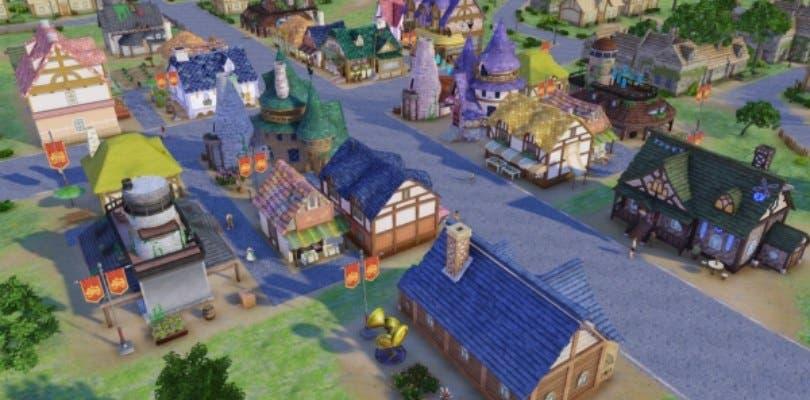 Nelke & the Legendary Alchemists ofrece detalles de su sistema de construcción y gestión de la ciudad
