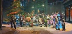 Overwatch obsequia cinco cajas de botín con motivo de la Navidad