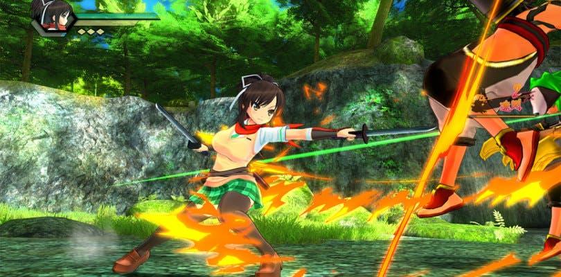 Senran Kagura festeja la Navidad a través de un tema gratuito para PS4