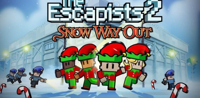 The Escapists 2 recibe el DLC gratuito Snow Way Out en todas sus plataformas