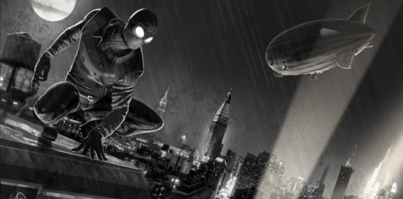 Tom Holland luce el traje negro en la primera imagen de Spider-Man: Lejos de Casa