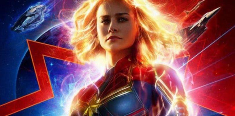 Capitana Marvel se deja ver en un nuevo póster antes de su segundo tráiler