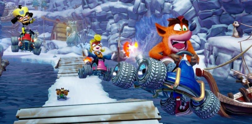 Activision muestra nuevas imágenes comparativas de Crash Team Racing Nitro-Fueled