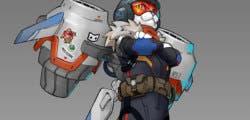 El famoso gato con jetpack hace aparición en el evento navideño de Overwatch
