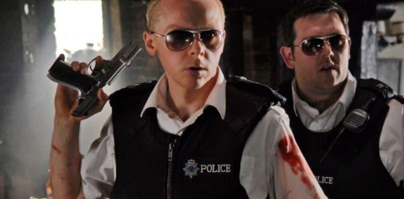 Edgar Wright está desarrollando Hot Fuzz 2 junto a Simon Pegg y Nick Frost