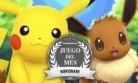Pokémon Let's Go Pikachu/Eevee es nuestro Juego del Mes de noviembre