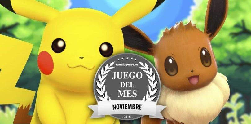 Pokémon Let's Go Pikachu/Eevee es nuestro Juego del Mes de noviembre
