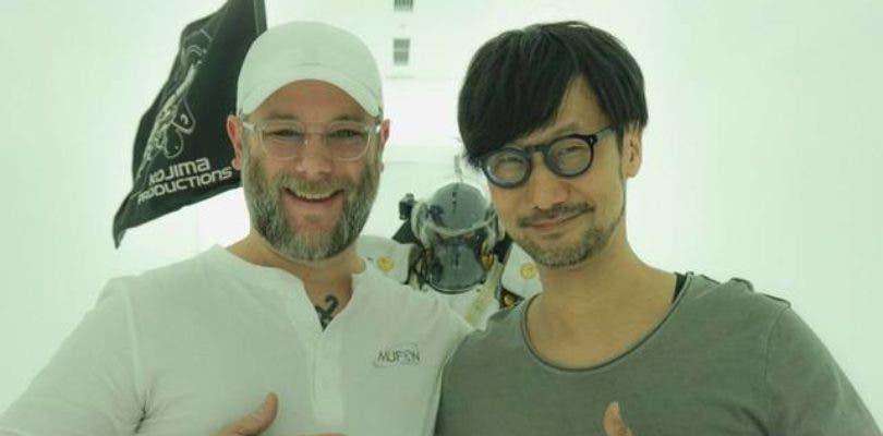 Cory Balrog visita a Hideo Kojima en su estudio, Kojima Productions