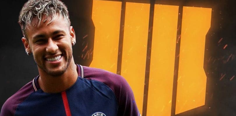 Neymar Jr realizará hoy un streaming jugando a Call of Duty: Black Ops 4