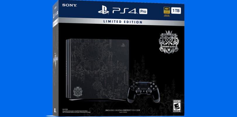 Anunciada la nueva PlayStation 4 Pro edición Kingdom Hearts III