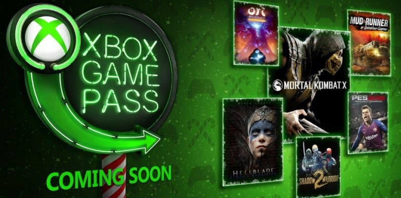 xbox game pass coming soon