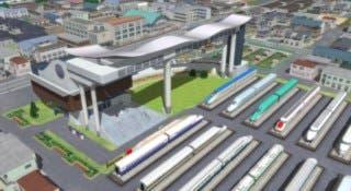 El simulador de trenes A-Train Express podría llegar a occidente