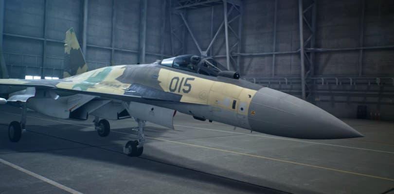 Bandai Namco enseña el Su-35S Flanker-E en el nuevo tráiler de Ace Combat 7