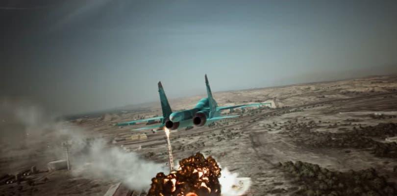 El colorido Su-34 protagoniza el nuevo tráiler de Ace Combat 7: Skies Unknown