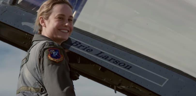 Brie Larson se sube al caza en el nuevo tráiler tras las cámaras de Capitana Marvel