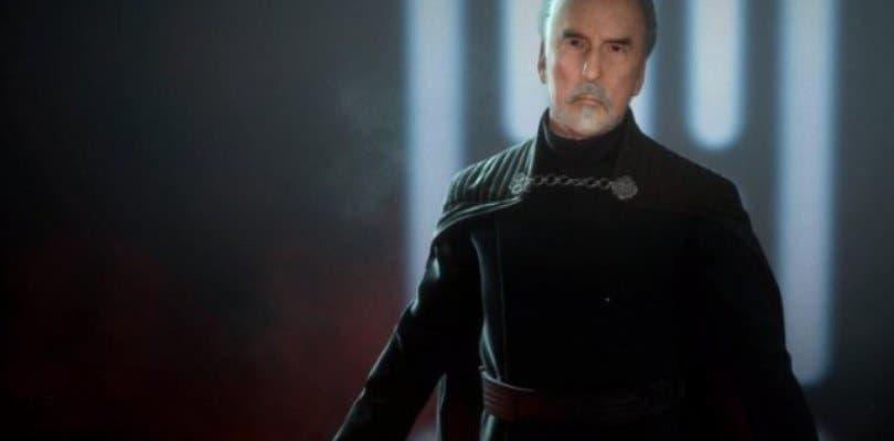El conde Dooku se une a la batalla en Star Wars Battlefront II