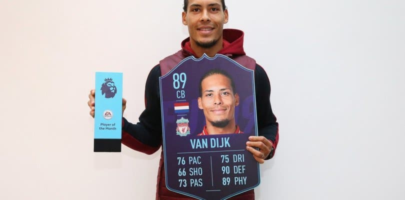 Van Dijk POTM ya disponible en FIFA 19