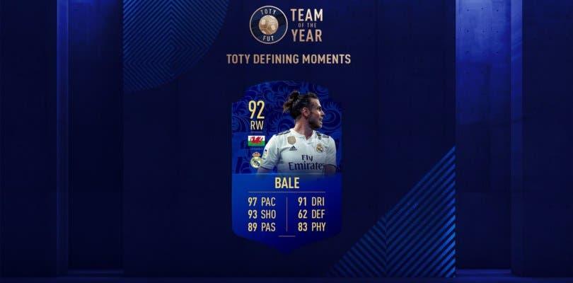 Bale TOTY es el SBC estrella de hoy en FIFA 19 Ultimate Team