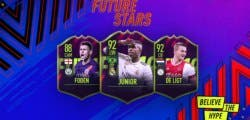 Vinicius, De Ligt y Foden son los primeros Future Stars de FIFA 19 Ultimate Team