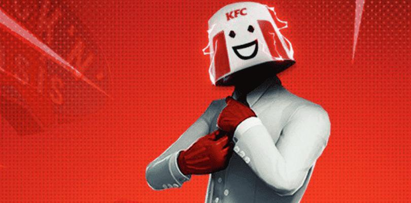 KFC presenta cómo podría ser su skin en Fortnite