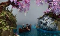 Un usuario ha recreado Alfheim, de God of War, a través de piezas LEGO