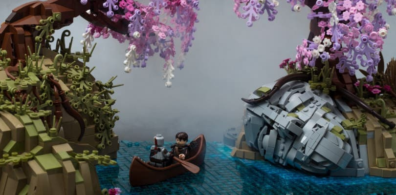 Un usuario ha recreado Alfheim, de God of War, a través de piezas LEGO